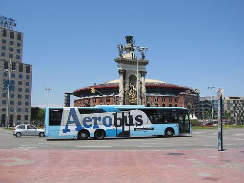 Автобус-экспресс из Эль Прат до Барселоны
