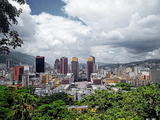 Caracas Las Torres del Centro Simón Bolívar