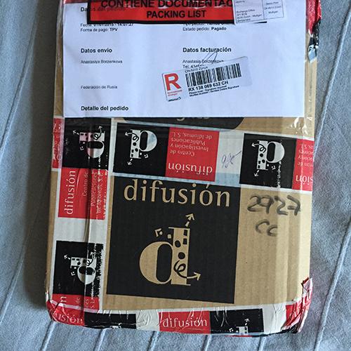 Заказываем учебники на сайте издательства Difusión